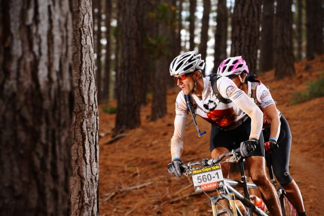 Cape Epic, Phil and Gina